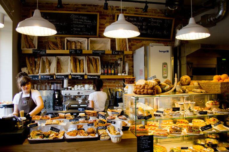 Bakery coffee sin gluten