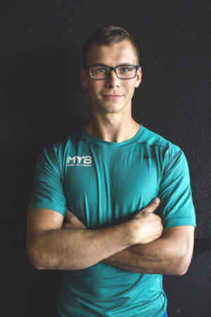 Trener personalny Maksym Sypniewski